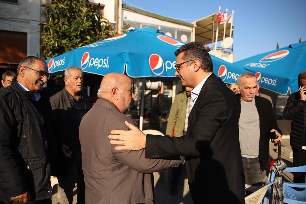 Erhürman Kar-İş'i ziyaret etti: Cumhurbaşkanlığı makamının toplumsal seferberliğin asli unsurlarından biri olması gerekiyor