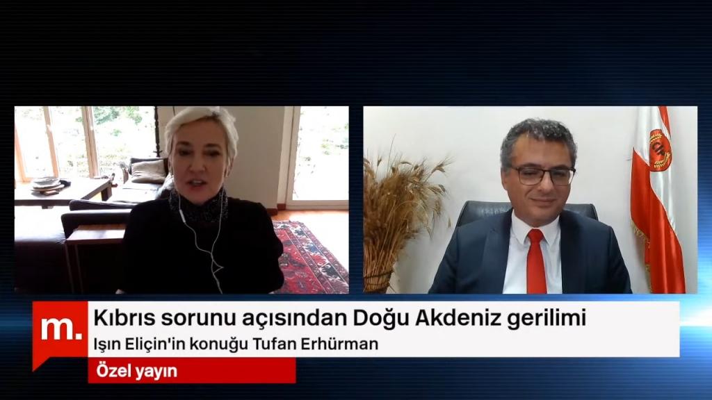 Erhürman: Doğu Akdeniz'de uzlaşı Kıbrıs'ta çözümden geçer