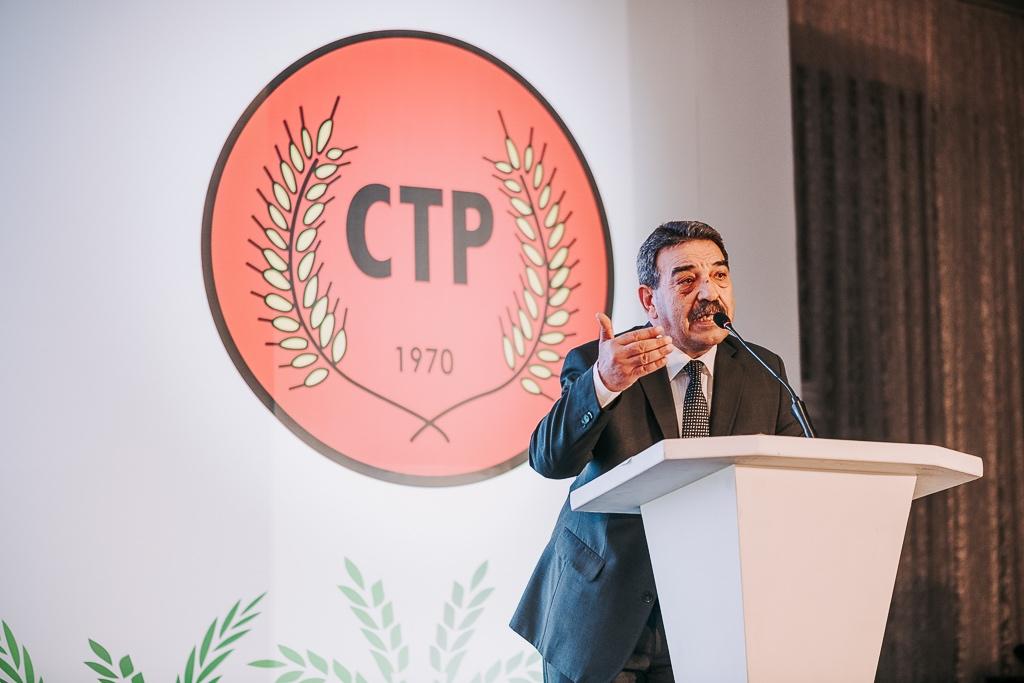 CTP'nin Cumhurbaşkanı adayı Tufan Erhürman: Kavga için değil, sevda için, çözüm için, barış için geliyoruz...