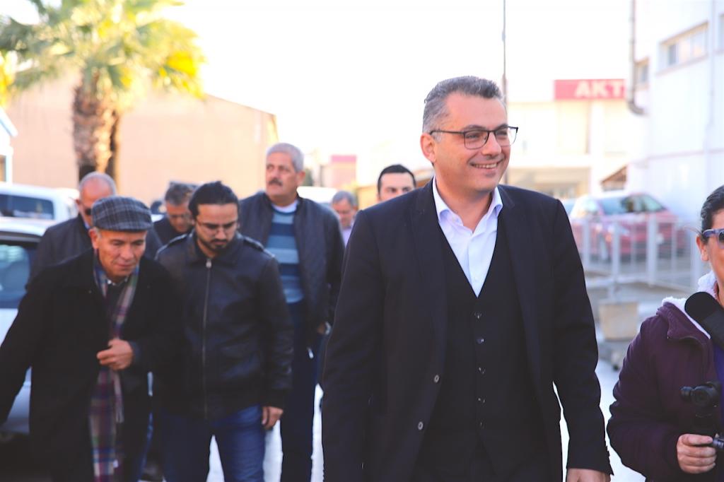 Erhürman, Kıb-Tek ve Lefkoşa Sanayi Bölgesini ziyaret etti