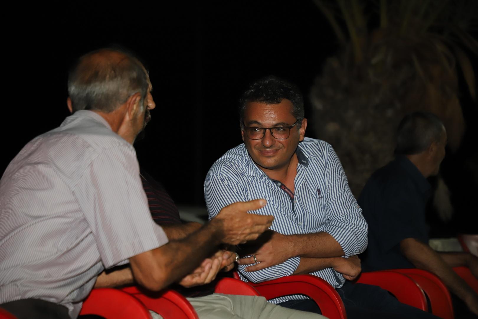 Erhürman'a İskele ve Karpaz'da yoğun ilgi